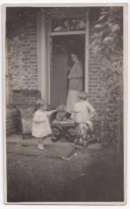 Social History, Harry & Joyce At Home Farm  RP PPC, c 1920's, Unknown Location
