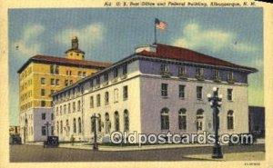 Albuquerque, NM USA Post Office 1952