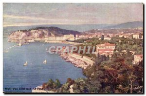 Nice Old Postcard General view The port