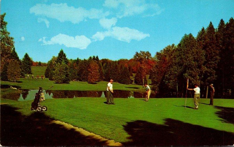 Canada Quebec Lachute Golf & Country Club 1962