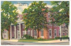 Hotel Henderson, Aiken, South Carolina, 30-40s