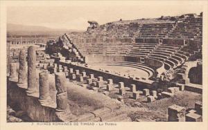Tunisia Ruines Romaines de Timgad Le Theatre