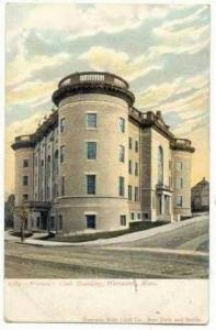 Women's Club Building, Worcester, Massachusetts, Pre-1907