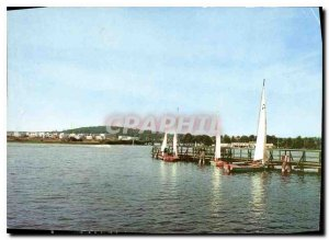 Postcard Modern Olsztyn Jezioro Ukiel
