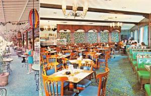 SAN JUAN PUERTO RICO~AT THE CONDADO LAS NEREIDAS ONLY SIDEWALK CAFE POSTCARD