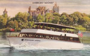 American Boat Line ADONIS, Passenger Boat, Boldt Castle, Thousand Islands, ...