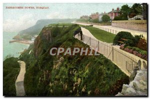 Postcard Old Babbacombe Downs Torquay