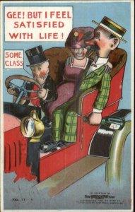 Mutt & Jeff Car Chauffeur c1910 Postcard - Embossed