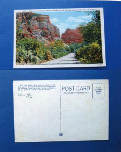 Ten Sleep Canyon, Big Horn Mountains, Wyoming Postcard, Picturesque, Highway 16