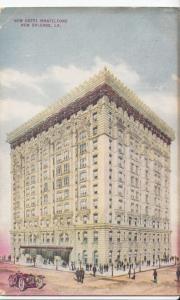 USA, New Hotel Monteleone, New Orleans, LA, 1915 used Postcard