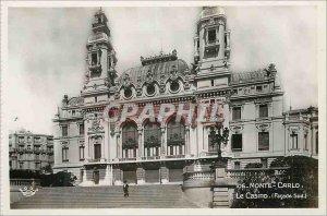 Modern Postcard Monte Carlo Casino Facade south