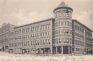 ST. JOHNSBURY , Vermont , 00-10s avenue House & Opera House