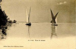 Switzerland - Lac Leman (Lake Geneva), Sailing