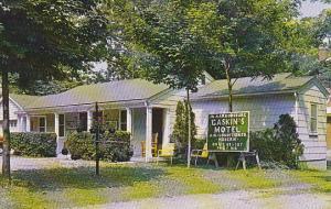 Kentucky Harrodsburg Gaskin's Motel