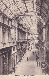 GENOVA, Liguria, Italy, 1900-1910's; Galleria Mazzini