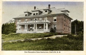 NH - Glen Cliff. New Hampshire State Sanitarium