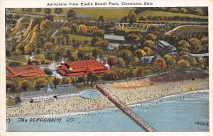 Cleveland-Euclid Beach Amusement Park~Aerograph~Big Roller Coaster~Dance 1920s