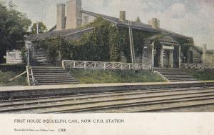 GUELPH , Ontario , Canada , 1905 ; First house