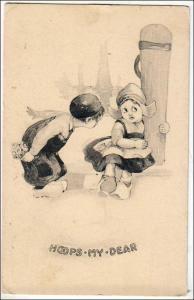 Dutch Children, Hoops-My-Dear