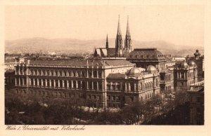 Universitat mit Votivkircke,Vienna,Austria BIN