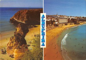 B110313 Portugal Albufeira Algarve Plage Panorama Beach General view