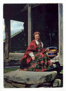 Norge / Norway :  Fra Hallingdalstunet, Oset Hoyfjellshotel , 50-60s