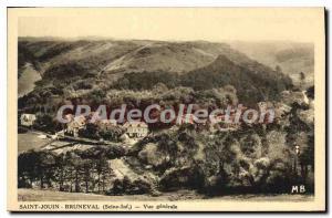 Postcard Old Saint Jouin BRUNEVAL Vue Generale