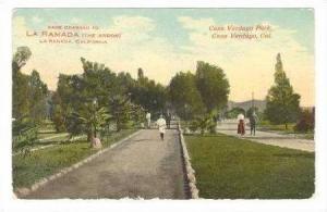Casa Verdugo Park, Casa Verdugo, California, 1912