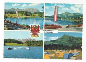 Austria Kitzbuhel Schwarzsee Tyrol Alps Vintage Multiview Po