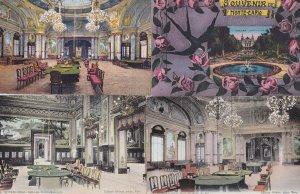 Monte Carlo Casino 4x Old French Postcard s