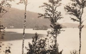 RPPC View from Villa Camp - Bryant Pond, Oxford County, Maine