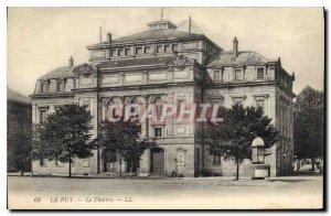 Old Postcard Le Puy Le Theater