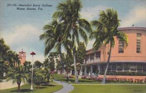 Beautiful Barry College Miami Shores Florida 1959