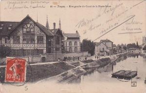 France Troyes Rive gauche du Canal de la Haute-Seine 1907