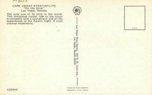 Cape Vegas Strataflite Las Vegas Nevada Postcard 11235