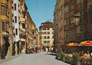 Austria Innsbruck Herzog-Friedrich-Strasse Fussgaengerzone