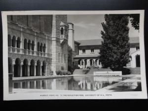 Australia: PERTH University of W.A. THE REFLECTION POOL Old RP PC