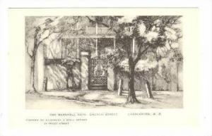 The Marshall Gate,Church St.,Charleston,SC,10-20s