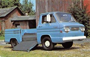 Trucks / Buses /  Vans Post Card 1963 Corvair Rampside Pick Up Unused