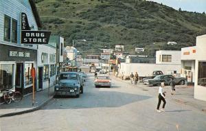 bert's drug store alaska delete L4480 vintage postcard
