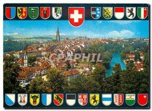 Modern Postcard Bern General view of the city