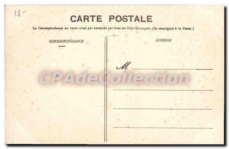 Old Postcard Menton New Jardins Du Carrei