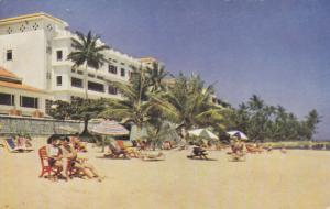 OCHO RIOS, Jamaica, B.W.I., 40-60s; The Beach, Tower Isle Hotel
