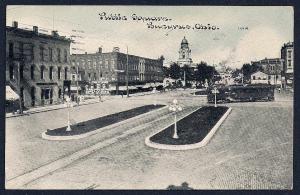 Public Square Bucyrus Ohio used c1911