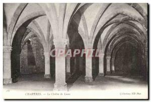 Old Postcard Chartres The Cloister of Loens