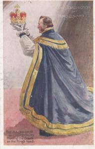 Coronation of King Edward vII & Archbishop of Canterbury , 00-10s ; TUCK