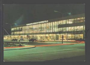 097157 GERMANY Berlin airport at night Old photo PC