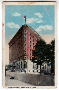 Hotel Kimball, Springfield Mass