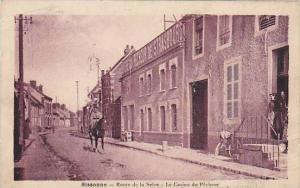Officer On A Horse, Route De La Selve, Le Casino De Pecheur, Sissonne (Aisne)...