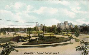 CLEVELAND , Ohio , 1900-10s ; University Circle